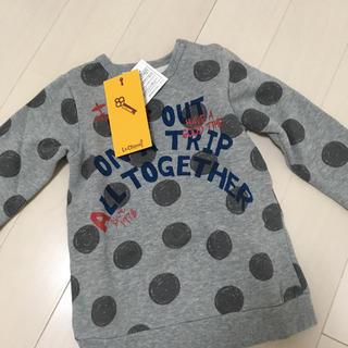 エイチアンドエム(H&M)の♡新品♡キムラタン ドット柄トレーナー(Tシャツ/カットソー)