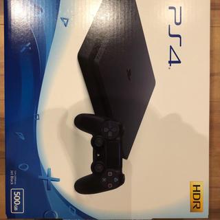 プレイステーション4(PlayStation4)のps4 本体 500 GB 新品未使用!(家庭用ゲーム本体)
