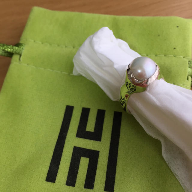 Edition(エディション)の新品未使用)hernan herdez パールリング レディースのアクセサリー(リング(指輪))の商品写真
