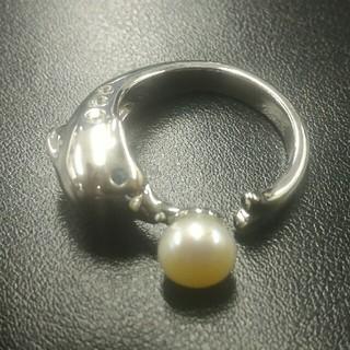 ドルフィンリング アコヤ真珠(リング(指輪))