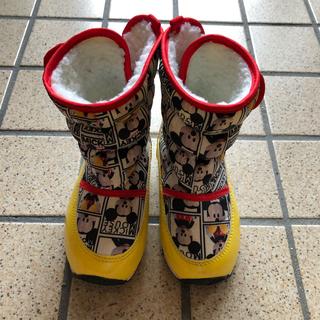ディズニー(Disney)のミッキー  スノーブーツ(ブーツ)