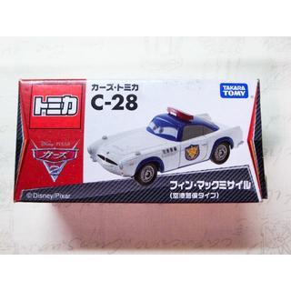 タカラトミー(Takara Tomy)のトミカ カーズ C-28 フィン・マックミサイル 空港警備タイプ(ミニカー)