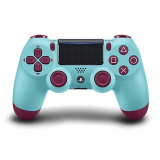 プレイステーション4(PlayStation4)のDUALSHOCK4コントローラー  ゲオ限定品ベリーブルー(家庭用ゲーム本体)