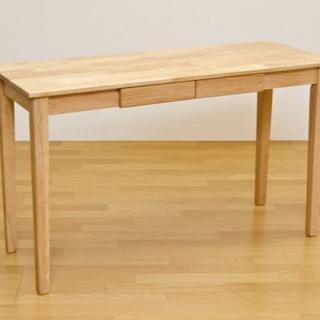 天然木のデスク!木製テーブル 120×45 umt1245(ダイニングテーブル)
