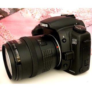 キヤノン(Canon)のプロ&初心者にも大人気⭐︎不動のベストセラーモデル⭐︎Canon EOS 20D(デジタル一眼)