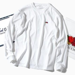 ロンハーマン(Ron Herman)のfruit of the loom ロンT 長袖Tシャツ 白M(Tシャツ/カットソー(七分/長袖))