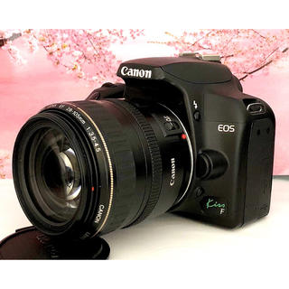 キヤノン(Canon)の超激レア高機能カメラ❤️限定1台のみ❤️Canon kiss F レンズキット(デジタル一眼)