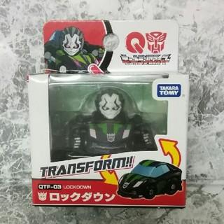 タカラトミー(Takara Tomy)の未開封《キュートランスフォーマー》 QTF-03  ロックダウン(キャラクターグッズ)