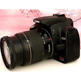 キヤノン(Canon)の大人気❤️簡単・高速・軽量・高画質❤️初心者入門機❤️Canon kiss N(デジタル一眼)