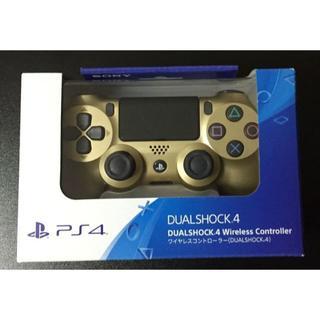 プレイステーション4(PlayStation4)のPS4 ワイヤレス コントローラー ゴールド【新品未開封品】(その他)