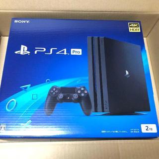 プレイステーション4(PlayStation4)の新品未開封ps4 2tb(家庭用ゲーム本体)