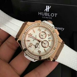 HUBLOT - ウブロ HUBLOT 腕時計 メンズ ホワイト