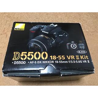 ニコン(Nikon)のNikon デジタル一眼レフカメラ D5500 18-55 VRII(デジタル一眼)