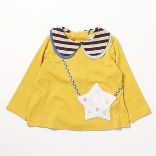 sense of wonder - 新品✩baby cheer スターポシェット衿付きTシャツ 80