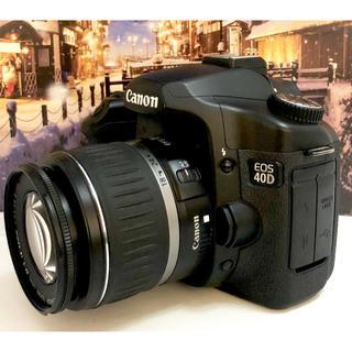 キヤノン(Canon)の初心者からプロまで大人気✨ハイエンドモデル✨Canon EOS 40D(デジタル一眼)