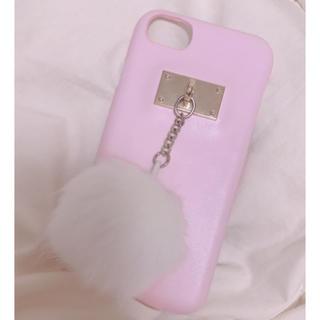 WEGO - iPhoneケース ポンポン付き