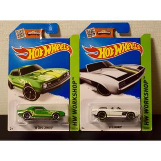 シボレー(Chevrolet)のホットウィール シボレーカマロ 2台セット(ミニカー)