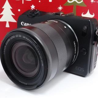 キヤノン(Canon)の❤️タッチパネル♪WiFi対応❤️キャノン EOS M (デジタル一眼)