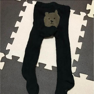 ベビーギャップ(babyGAP)のベビーギャップタイツ黒12-24m(靴下/タイツ)