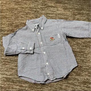 ミキハウス(mikihouse)のミキハウス 100cm チェックシャツ(Tシャツ/カットソー)