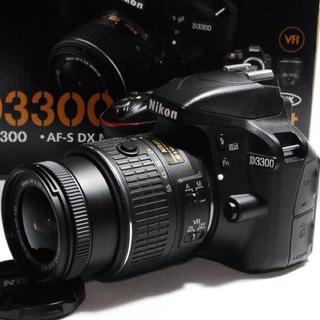 ニコン(Nikon)の◆美品◆Nikon D3300 レンズキット◆オマケ付き♪◆(デジタル一眼)