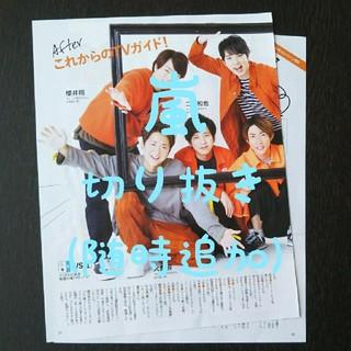 アラシ(嵐)の嵐 切り抜き TVガイド(アイドルグッズ)