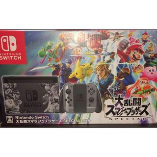 ニンテンドースイッチ(Nintendo Switch)の任天堂 スイッチ大乱闘スマッシュブラザーズ セット (家庭用ゲーム本体)