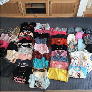 ベビーギャップ(babyGAP)の女の子 夏服 冬服 合計53点 100センチ ZARA等(Tシャツ/カットソー)