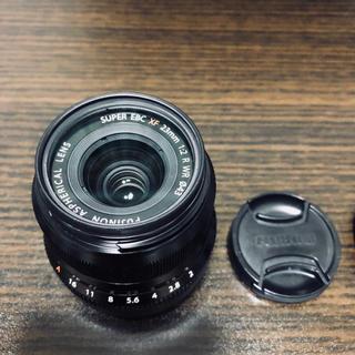 フジフイルム(富士フイルム)の送料無料 美品 XF23mmF2 R Kenko MC UVレンズフィルター付(レンズ(単焦点))