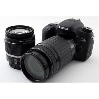 キヤノン(Canon)の★Wi-Fi搭載!高画質モデル★キャノン EOS 8000D ダブルズーム(デジタル一眼)