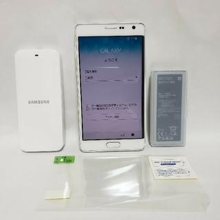 サムスン(SAMSUNG)のGALAXY SC01G NOTE Edge ギャラクシーノートエッジ(スマートフォン本体)