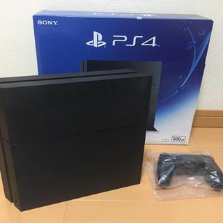プレイステーション4(PlayStation4)のPS4 本体 ジェットブラック CUH1200A B01 500GB(家庭用ゲーム本体)