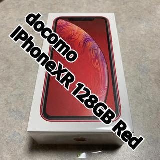アイフォーン(iPhone)のiPhoneXR 128GB Red docomo(スマートフォン本体)