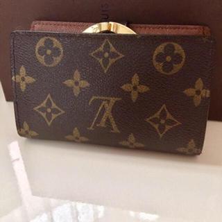 LOUIS VUITTON - 美品です 正規品ルイヴィトンがま口折り財布
