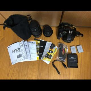 ニコン(Nikon)の一眼レフ nikon  D5500 ダブルズームキット レンズセット(デジタル一眼)