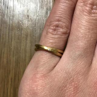 アーカー(AHKAH)のAHKAH アーカー デュオR リング(リング(指輪))
