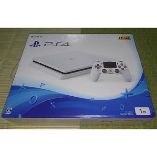プレイステーション4(PlayStation4)の新品未開封 ★PlayStation 4  白 1TB CUH-2200BB02(家庭用ゲーム本体)