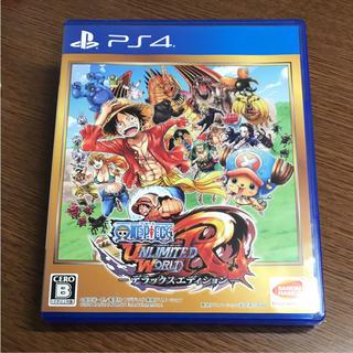 プレイステーション4(PlayStation4)のONE PIECE アンリミテッドワールドRデラックスエディション PS4ソフト(家庭用ゲームソフト)