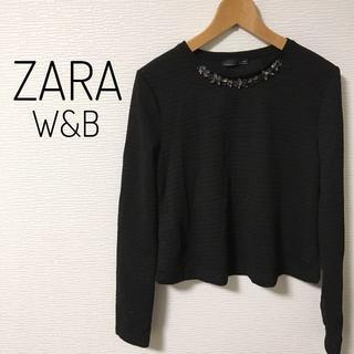 ザラ(ZARA)のZARA 新品 トップス レディース 秋冬(Tシャツ(長袖/七分))