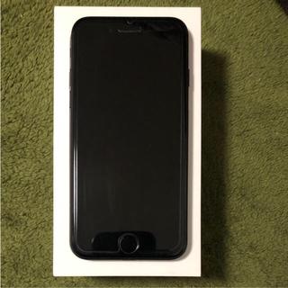 アイフォーン(iPhone)のiPhone7 black 128gb simフリー(スマートフォン本体)