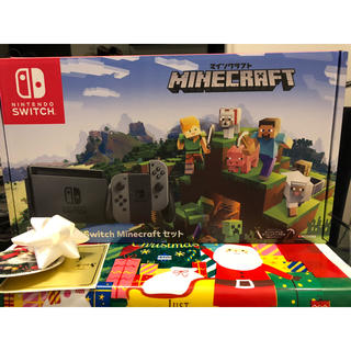 ニンテンドースイッチ(Nintendo Switch)のスイッチ マインクラフトセット 新品未使用(家庭用ゲーム本体)