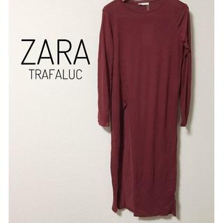 ザラ(ZARA)のZARA 新品 レディース ワンピース 秋冬(ひざ丈ワンピース)
