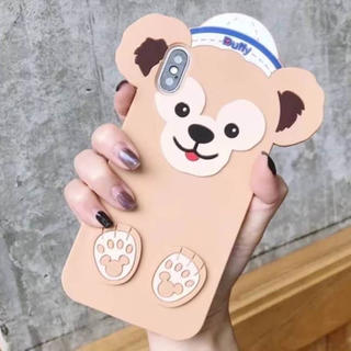 数量限定】ダッフィー iPhoneケース  X. XS シリコン ディズニー