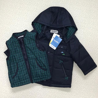 ファミリア(familiar)の新品 ファミリア   3way 防寒 コート アウター 男の子(ジャケット/コート)