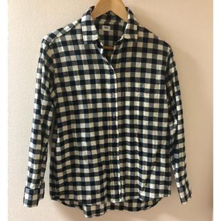 ユニクロ(UNIQLO)のギンガムチェックシャツ UNIQLO Mサイズ(シャツ/ブラウス(長袖/七分))