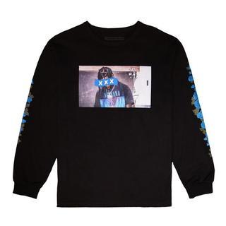 ジィヒステリックトリプルエックス(Thee Hysteric XXX)の完売 新品 GOD SELECTION XXX L/SブラックL (Tシャツ/カットソー(七分/長袖))
