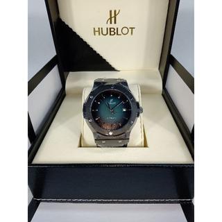ウブロ(HUBLOT)のHUBLOT メンズファッション 自動巻き 腕時計 (ラバーベルト)
