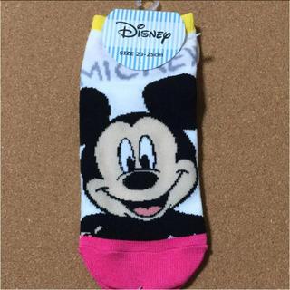 ディズニー(Disney)のミッキー♡靴下♡新品・未使用品♡(ソックス)