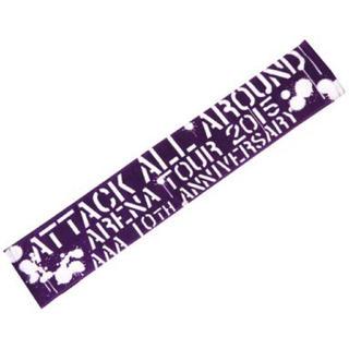 AAA - AAA マフラータオル(紫)