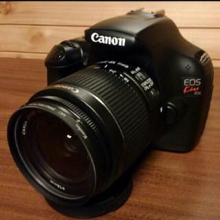 キヤノン(Canon)のCanon デジタル一眼レフ EOS Kiss X50 レンズキット 付属品完備(デジタル一眼)